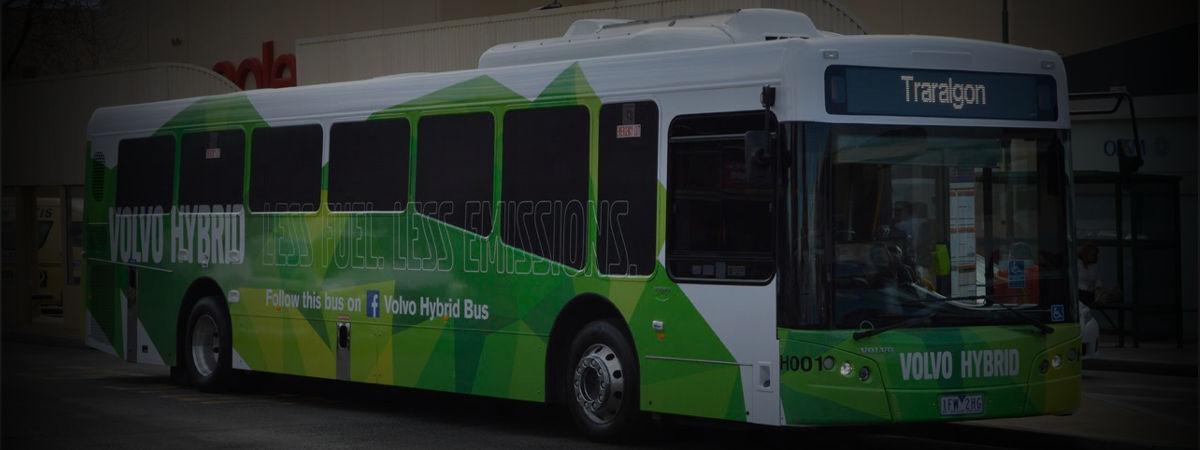 Latrobe Valley Bus Lines - Volvo Hybrid Low Emission Bus